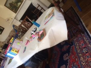 Classroom at home - Josie