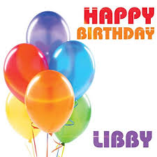 Happy birthday Libby