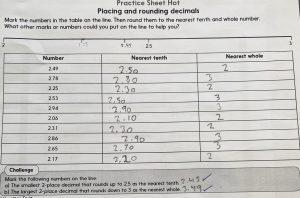 Maths rounding decimals HOT