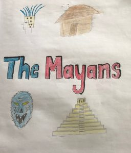 The Mayans project title page