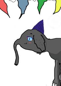alexa random elephant